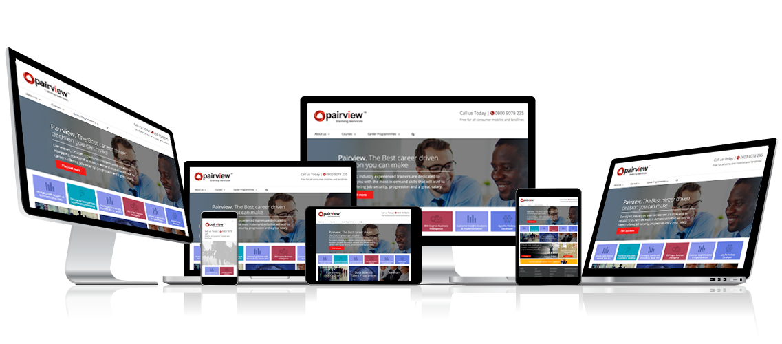 Responsive web design for all communication devices